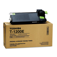 TOST1200 - Toshiba T1200 Toner, 6500 Page-Yield, Black