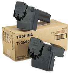 TOST2500 - Toshiba T2500 Toner, 7500 Page-Yield, 2/Carton, Black