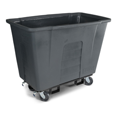 TOTAM110-00IGY - Toter - 1 Cubic Yard 1,000 lbs. Capacity Mobile Truck - Industrial Gray