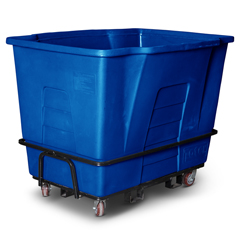 TOTAM120-54721 - Toter - 2 Cubic Yard 2,300 lbs. Capacity Universal Mobile Truck - Blue