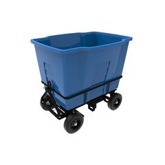 TOTAMA20-00BLU - Toter - 2 Cubic Yard 2,300 lbs. Capacity Rapid Speed Towable Mobile Truck - Blue