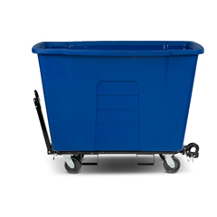 TOTAMT10-00BLU - Toter - 1 Cubic Yard 1,000 lbs. Capacity Towable Mobile Truck - Blue