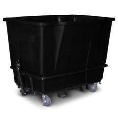 TOTAMT20-00BLK - Toter - 2 Cubic Yard 2,300 lbs. Capacity Towable Mobile Truck - Black
