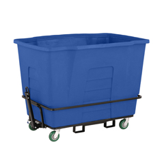 TOTAMT20-00BLU - Toter - 2 Cubic Yard 2,300 lbs. Capacity Towable Mobile Truck - Blue