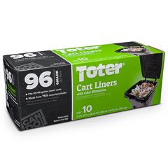 TOTGB096-R1000 - Toter - 96 Gal. Trash Can Bags - 10 Bag Roll