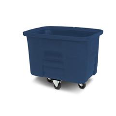 TOTMMC08-00BLU - Toter - 8 Cubic Feet 300 lbs. Capacity Heavy Duty Manual Cube Truck - Blue
