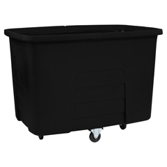 TOTMMC20-00BLK - Toter - 20 Cubic Feet 600 lbs. Capacity Heavy Duty Manual Cube Truck - Black