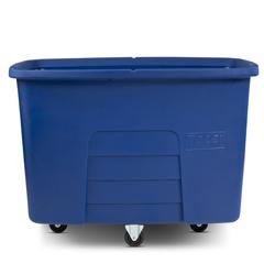 TOTMMC20-00BLU - Toter - 20 Cubic Feet 600 lbs. Capacity Heavy Duty Manual Cube Truck - Blue