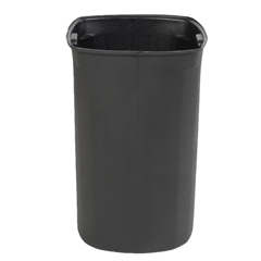 TOTRL060-00BLK - Toter - 60 Gal. Rigid Liner for 65-Gallon Litter Container (860-B) - Black
