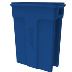TOTSL023-00705 - Toter - 23 Gallon Slimline Rectangular Trash Can - Blue