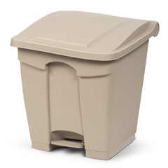 TOTSOF08-00BEI - Toter - 8G/ 30.3 L Step on Container Fire Retardant - Beige
