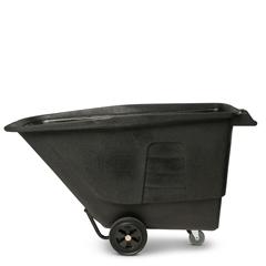 TOTUT010-00BLK - Toter - 1 Cubic Yard 825 lbs. Capacity Utility Duty Tilt Truck - Blackstone