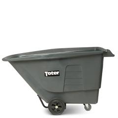 TOTUT010-00IGY - Toter - 1 Cubic Yard 825 lbs. Capacity Utility Duty Tilt Truck - Industrial Gray