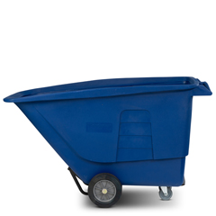 TOTUT110-00BLU - Toter - 1 Cubic Yard 1,200 lbs. Capacity Standard Duty Tilt Truck - Blue