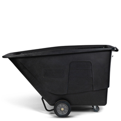 TOTUT115-00BKS - Toter - 1 1/2 Cubic Yard 1,200 lbs. Capacity Standard Duty Tilt Truck - Blackstone