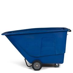 TOTUT115-00BLU - Toter - 1 1/2 Cubic Yard 1,200 lbs. Capacity Standard Duty Tilt Truck - Blue