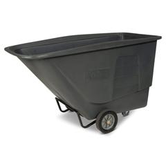 TOTUT115-00IGY - Toter - 1 1/2 Cubic Yard 1,200 lbs. Capacity Standard Duty Tilt Truck - Gray