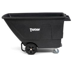 TOTUT175-00BLK - Toter - 3/4 Cubic Yard 825 lbs. Capacity Standard Duty Tilt Truck - Blackstone