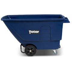 TOTUT175-00BLU - Toter - 3/4 Cubic Yard 825 lbs. Capacity Standard Duty Tilt Truck - Blue