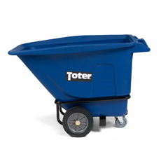 TOTUT205-00BLU - Toter - 1/2 Cubic Yard 1200 lbs. Capacity Heavy Duty Tilt Truck - Blue