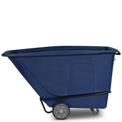 TOTUT215-00BLU - Toter - 1 1/2 Cubic Yard 2,000 lbs. Capacity Heavy Duty Tilt Truck - Blue