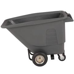 TOTUTP05-00IGY - Toter - 1/2 Cubic Yard 825 lbs. Capacity Standard Duty Pneumatic Wheel Tilt Truck - Industrial Gray