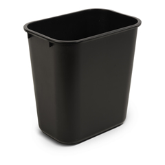 TOTWBF06-00BLK - Toter - 27 QT Fire Resistant Trash Can - Black