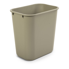TOTWBF06-00SAN - Toter - 27 QT Fire Resistant Trash Can - Sand