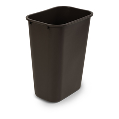 TOTWBF10-00BRW - Toter - 40 QT Fire Resistant Trash Can - Brown