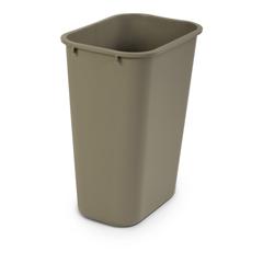 TOTWBF10-00SAN - Toter - 40 QT Fire Resistant Trash Can - Sand