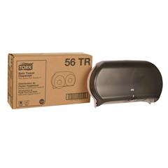 TRK56TR - Tork® Twin Jumbo Bath Tissue Roll Dispenser