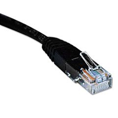 TRPN002007BK - Tripp Lite CAT5e Molded Patch Cable