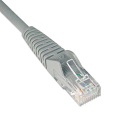 TRPN201001GY - Tripp Lite CAT6 Snagless Patch Cable