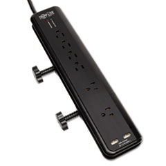 TRPTLP606DMUSB - Tripp Lite Protect It!™ Six-Outlet Surge Suppressor