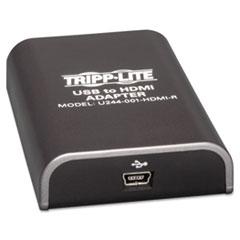 TRPU244001HDMIR - Tripp Lite USB to HDMI Adapter
