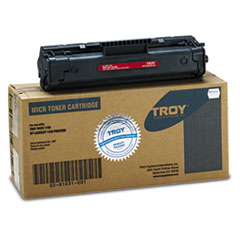 TRS0281031001 - Troy 0281031001 92A Compatible MICR Toner, 2,500 Page-Yield, Black
