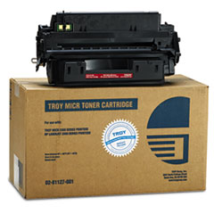 TRS0281127001 - Troy 0281127001 10A Compatible MICR Toner, 6,300 Page-Yield, Black