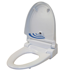 ITOTS1EWACEA - iTouchlessTouch-Free Sensor Control Automatic Toilet Seat - Elongated