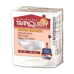 MON21923101 - PBETranquility HI-Rise™ Bariatric Disposable Briefs