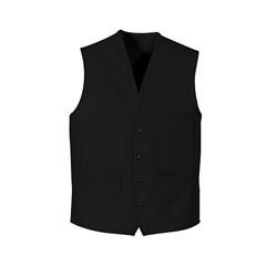 UNF1360BK-RG-3XL - Chef DesignsUnisex 4-Button Front Vest