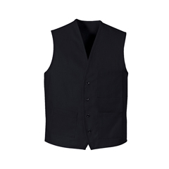 UNF1360NV-RG-XL - Chef DesignsUnisex 4-Button Front Vest