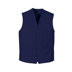 UNF1360RB-RG-M - Chef DesignsUnisex 4-Button Front Vest