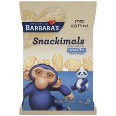 BFG16059 - Barbara's BakeryBarbaras Vanilla Snackimals