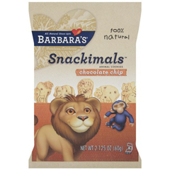 BFG16060 - Barbara's BakeryChocolate Chip Snackimals