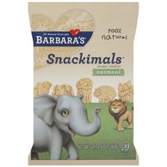 BFG36116 - Barbara's BakeryBarbaras Wheat-free Oatmeal Snackimals