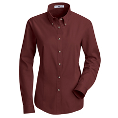 UNF1T11BU-RG-M - Red KapWomens Meridian Performance Twill Shirt