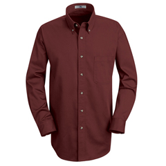 UNF1T12BU-RG-S - Red KapMens Meridian Performance Twill Shirt