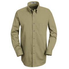 UNF1T12KH-LN-XL - Red KapMens Meridian Performance Twill Shirt