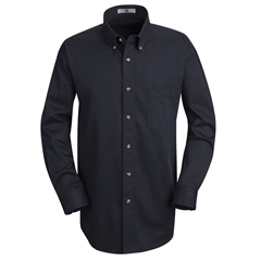UNF1T12NV-RG-S - Red KapMens Meridian Performance Twill Shirt