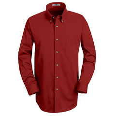 UNF1T12RD-RG-M - Red KapMens Meridian Performance Twill Shirt